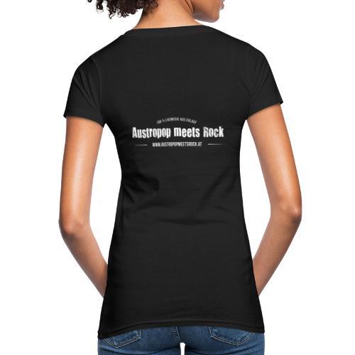 AMR Logo vintage back - Frauen Bio-T-Shirt