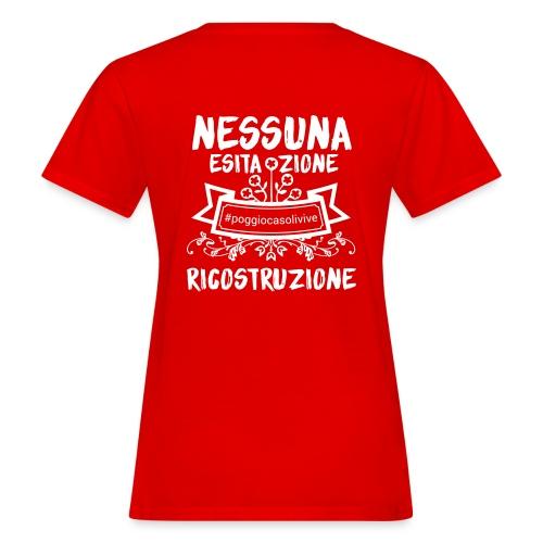 patch ricostruzione Poggio Casoli - T-shirt ecologica da donna