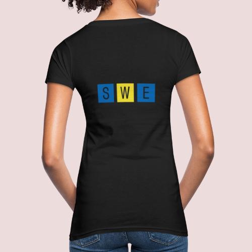 SWE - Ekologisk T-shirt dam