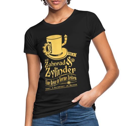 ZuZ 2018 + Brust- & Rückenmotiv - Frauen Bio-T-Shirt