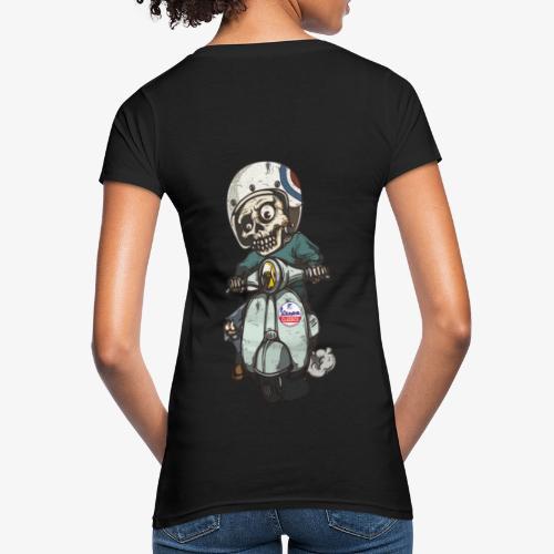 Skullterist - Solo Big Print - Frauen Bio-T-Shirt