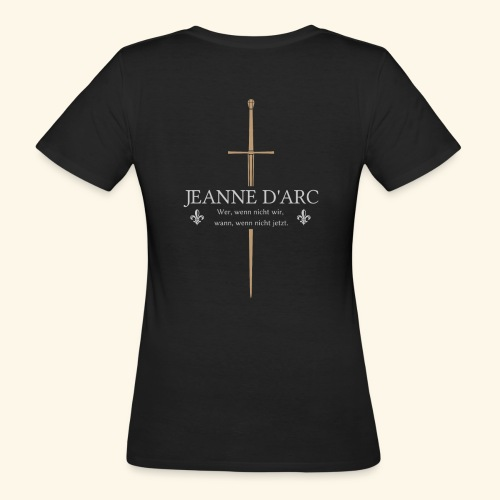 Jeanne d arc - Frauen Bio-T-Shirt