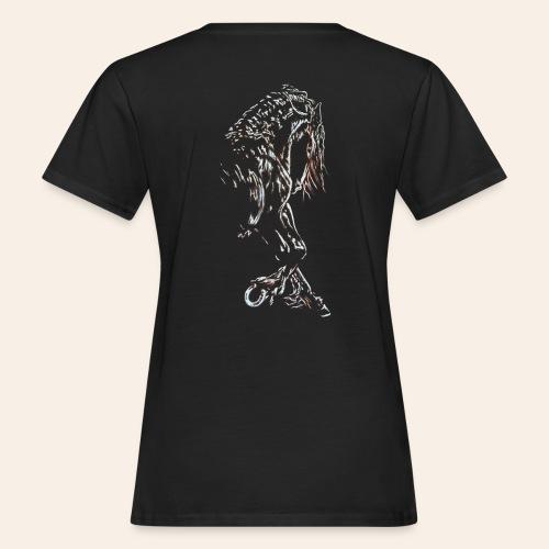 Frieseschwarz - Frauen Bio-T-Shirt