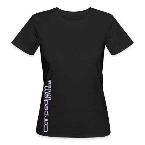 logo manche - T-shirt bio Femme