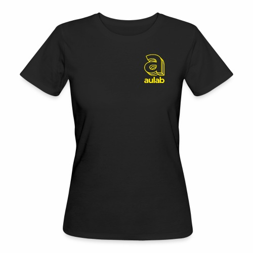 Marchio aulab giallo - T-shirt ecologica da donna