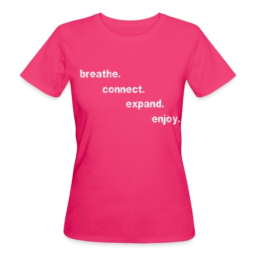 front1 weiß - Frauen Bio-T-Shirt