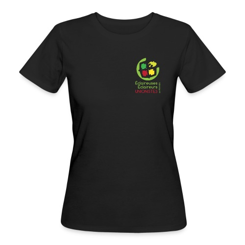 logo eeudf coul textile png - T-shirt bio Femme