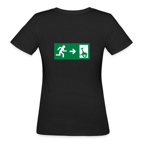 notaufgang - Frauen Bio-T-Shirt