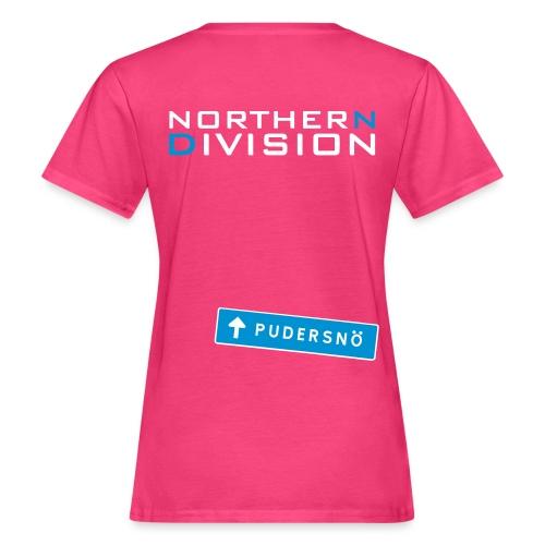 pudersn_2vari - Naisten luonnonmukainen t-paita