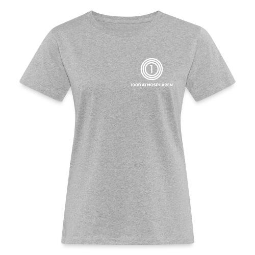 1000 Atmosphären Logo - Frauen Bio-T-Shirt