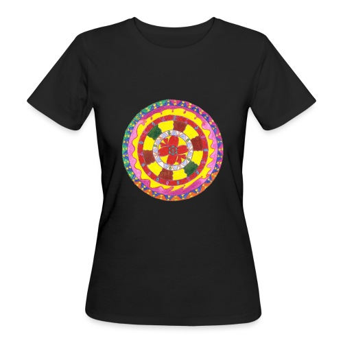 Creativity Heart gif - T-shirt ecologica da donna