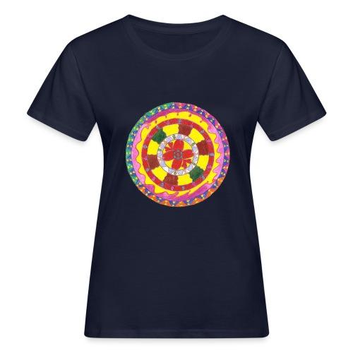 Creativity Heart gif - T-shirt ecologica da donna