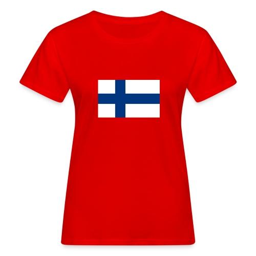 800pxflag of finlandsvg - Naisten luonnonmukainen t-paita