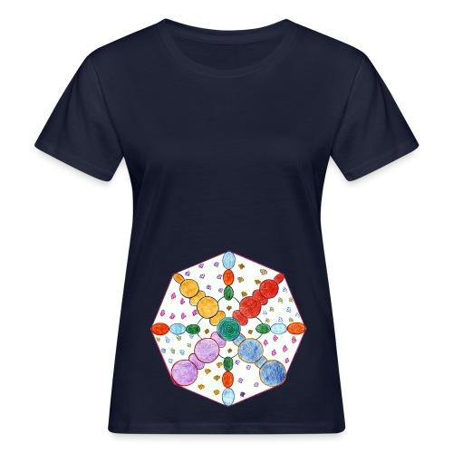 Simply Beauty sfondo trasparente gif - T-shirt ecologica da donna