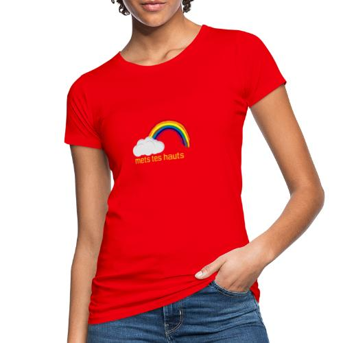Meteo yellow XL - AW20/21 - T-shirt bio Femme
