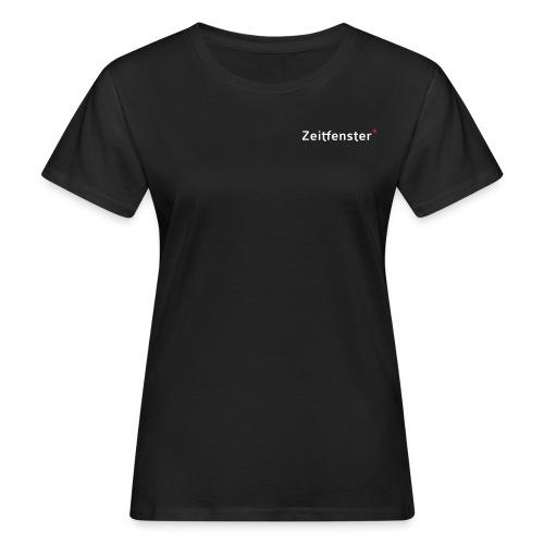 Zeitfenster Logo - Frauen Bio-T-Shirt