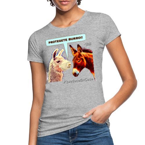 PROTEGETE BURRO - Women's Organic T-Shirt