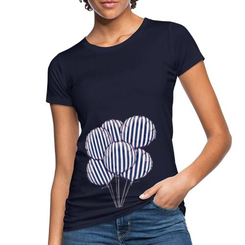BlueBalloon - T-shirt ecologica da donna
