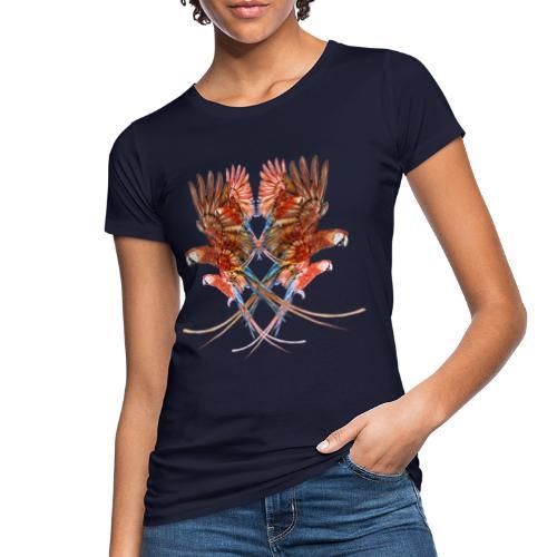 pappagalli - T-shirt ecologica da donna