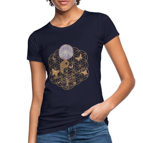 Das Leben umgeben von Energie. Blume des Lebens. - Frauen Bio-T-Shirt