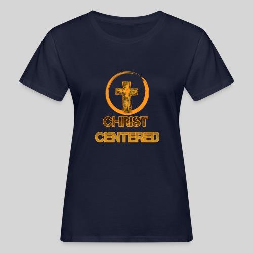 Christ Centered Focus on Jesus - Frauen Bio-T-Shirt