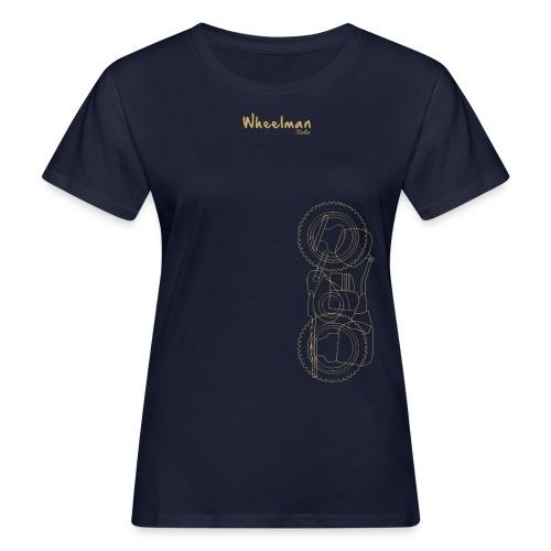 wheelman - T-shirt ecologica da donna