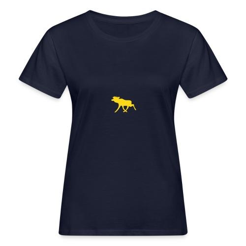 Schwedenelch; schwedisches Elch-Symbol (vektor) - Frauen Bio-T-Shirt