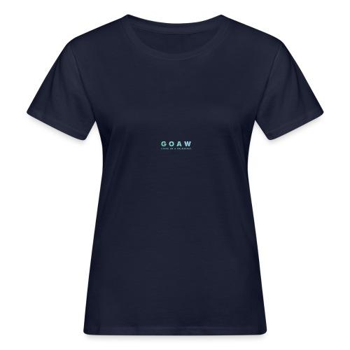 GOAW logo - Women's Organic T-Shirt