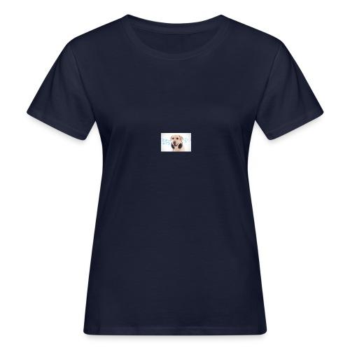 Hond Met Koptelefoon Op Borst - Vrouwen Bio-T-shirt