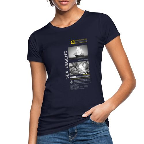 SEA LEGEND. Kruzenshtern - Women's Organic T-Shirt