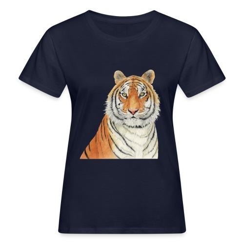 Tigre,Tiger,Wildlife,Natura,Felino - T-shirt ecologica da donna