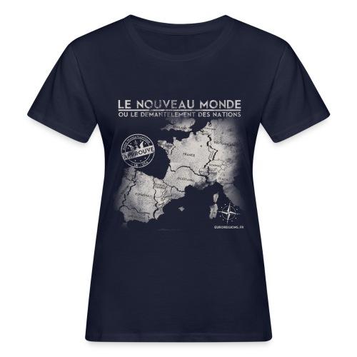 euroregions BLANC - T-shirt bio Femme
