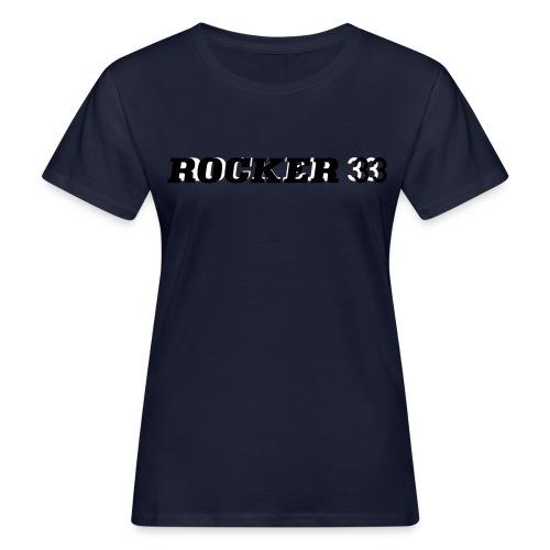 rocker33 logo - Frauen Bio-T-Shirt