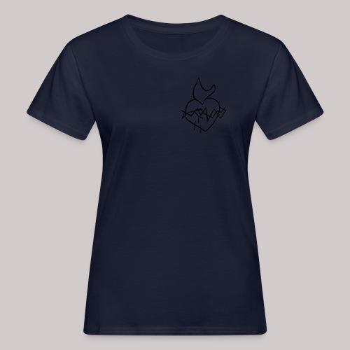 Sagrado Corazón de Jesús - Camiseta ecológica mujer