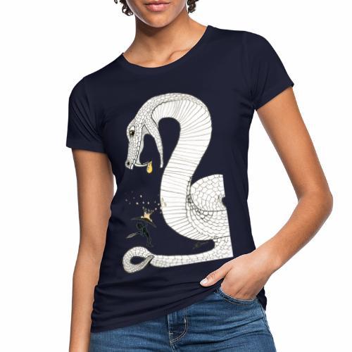Poison - Combat contre un serpent venimeux géant - T-shirt bio Femme