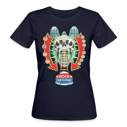 ROCK ANTENNE Rock 'n' Rollercoaster - Frauen Bio-T-Shirt