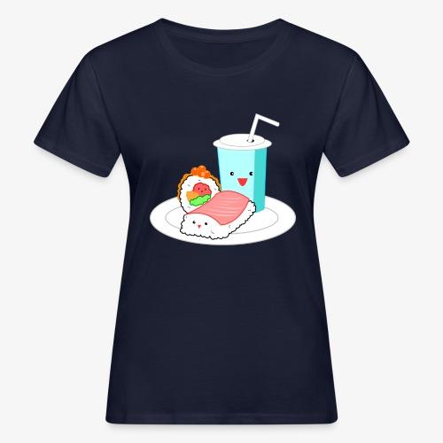 Happy Sushi - Vrouwen Bio-T-shirt