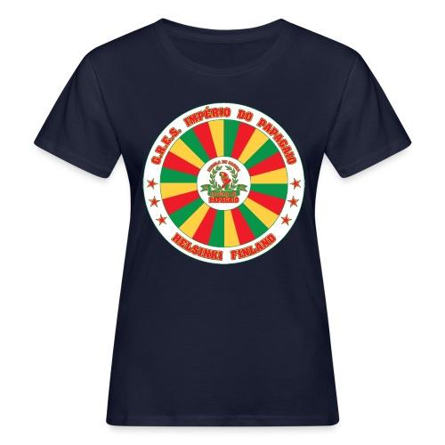 Papagaio drum logo - Naisten luonnonmukainen t-paita