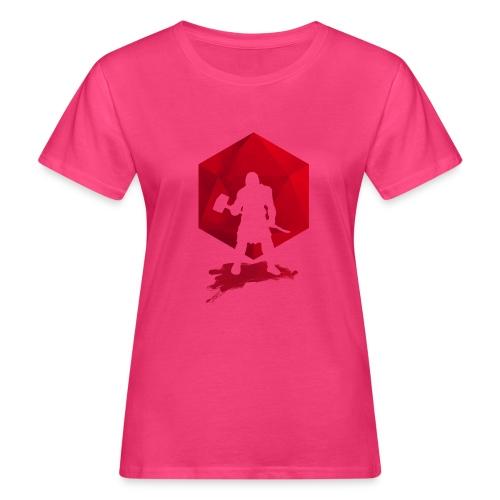 Brutal Barbarian - Dungeons and Dragons dnd d20 - Naisten luonnonmukainen t-paita