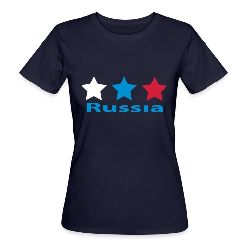 stars_russia - Frauen Bio-T-Shirt