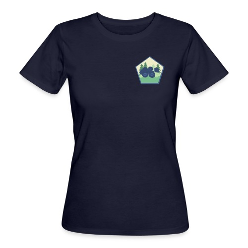The blueberry forest - Ekologisk T-shirt dam