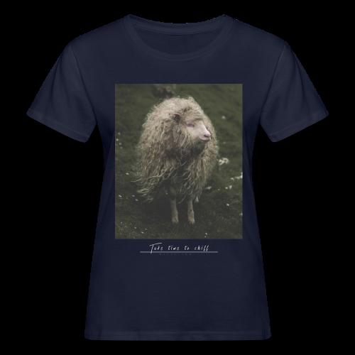 Take time to chill - Frauen Bio-T-Shirt