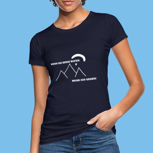 gleitschirmflieger paragliding geschenk tshirt - Frauen Bio-T-Shirt