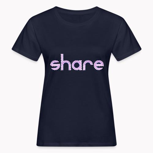 Partager un spirographe - T-shirt bio Femme