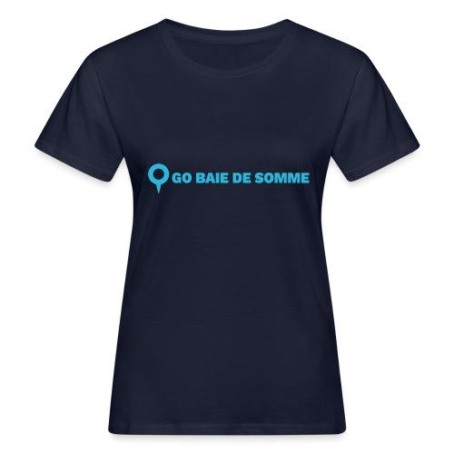 LOGO Go Baie de Somme - T-shirt bio Femme