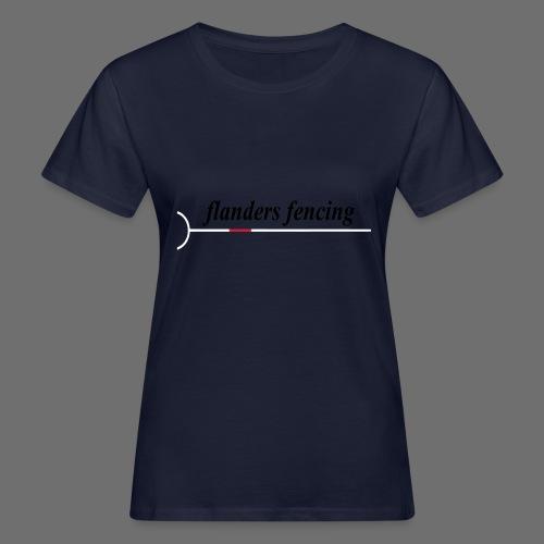 Flanders Fencing - Vrouwen Bio-T-shirt