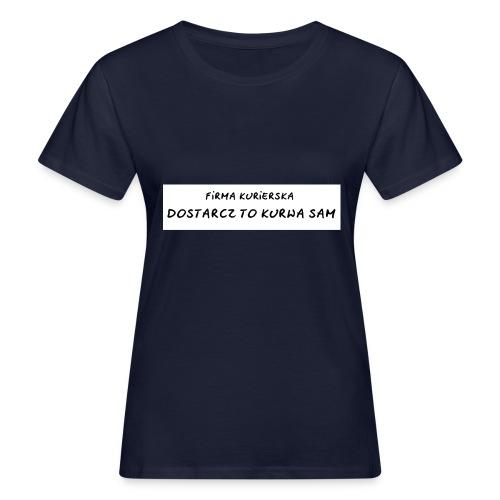 firma kurierska tyl - Ekologiczna koszulka damska