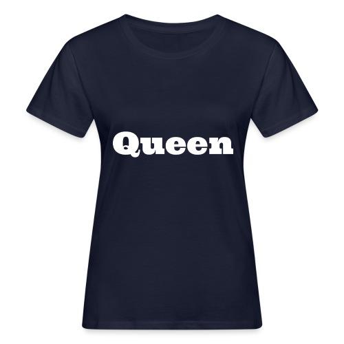 Snapback queen zwart/blauw - Vrouwen Bio-T-shirt