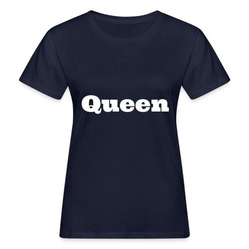 Snapback queen blauw/rood - Vrouwen Bio-T-shirt
