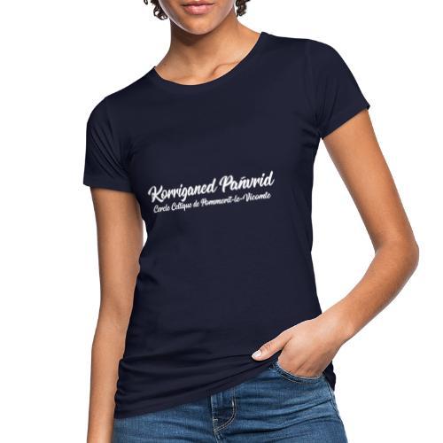 Nom Korriganed Pañvrid V2 - T-shirt bio Femme